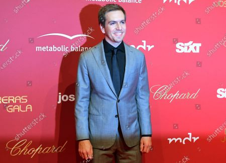 German former national soccer player Philipp Lahm arrives for the Jose Carreras Gala Christmas concert in Leipzig, Germany, 12 December 2019. The 25th Jose Carreras Gala is one of the most successful charity events in German television and raises funds for the Spanish tenor's leukemia foundation.