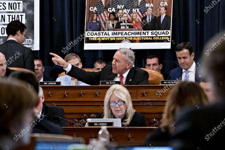 Editorial picture of President Trump impeachment inquiry, Washington DC, USA - 12 Dec 2019