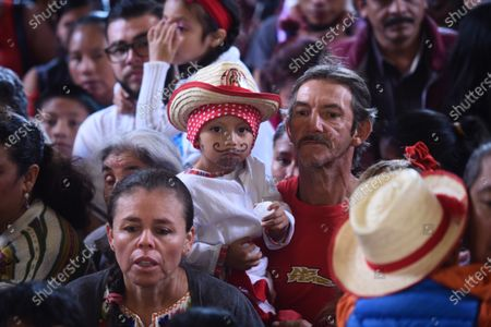 Editorial photo of Celebration of the day of the Virgin of Guadalupe in Guatemala, Guatemala City - 12 Dec 2019