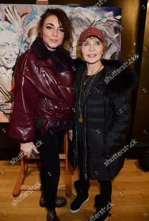 Lois Winstone and Lulu