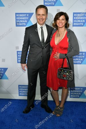 Stock Photo of Chad Lowe and Kim Painter