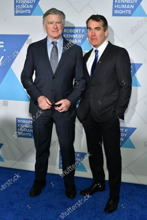 Treat Williams and Brian d'Arcy James
