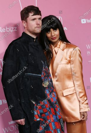 James Blake and Jameela Jamil