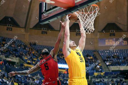 Editorial image of Austin Peay West Virginia Basketball, Morgantown, USA - 12 Dec 2019