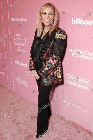 Stock Image of Dawn Ostroff attends Billboard Magazine: Women in Music 2019