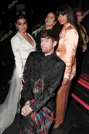 Lauren Jauregui, James Blake, Rosalia and Jameela Jamil attend the Billboard Magazine: Women in Music 2019