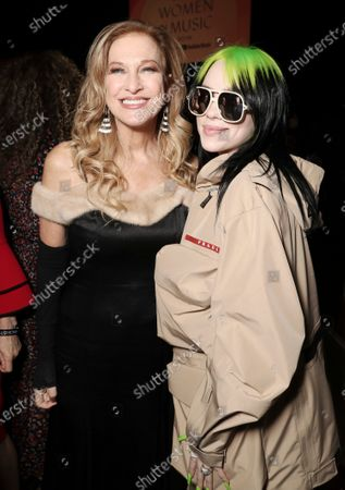 Stock Picture of Deborah Dugan and Billie Eilish attend Billboard Magazine: Women in Music 2019
