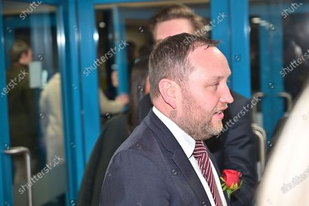 Labour MP Ian Murray at the UK Parliamentary General Election counting at the Royal Highland Centre.