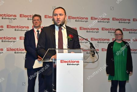 Labour MP Ian Murray wins his South Morning side seat at the UK Parliamentary General Election counting at the Royal Highland Centre.