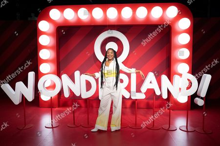 IMAGE DISTRIBUTED FOR TARGET - Keke Palmer is seen celebrating the holidays at Wonderland!, Target's festive pop-up event, on in New York City. Open to the public Dec. 13 to Dec. 22, Wonderland! is a free, immersive holiday experience with shareable and shoppable moments that bring guests and their families together to celebrate all that the season has to offer