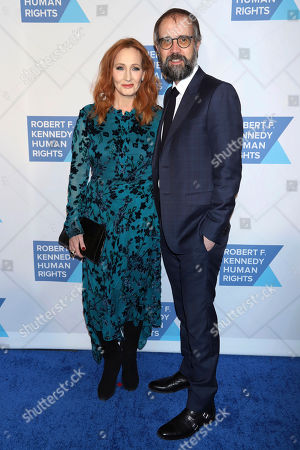 J.K. Rowling, Neil Murray. J.K. Rowling, left, and Neil Murray attend the 2019 Robert F. Kennedy Human Rights Ripple of Hope Awards at the New York Hilton Midtown, in New York