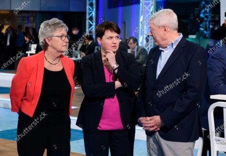 Editorial photo of ITV News Election night coverage, London, UK - 12 Dec 2019