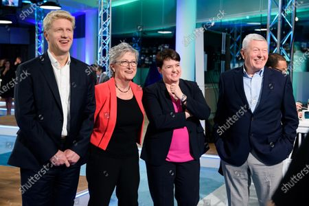 Editorial image of ITV News Election night coverage, London, UK - 12 Dec 2019