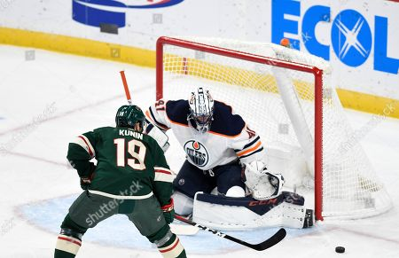 Editorial picture of Oilers Wild Hockey, St. Paul, USA - 12 Dec 2019