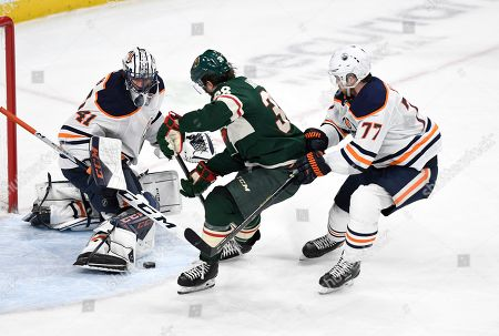 Editorial photo of Oilers Wild Hockey, St. Paul, USA - 12 Dec 2019
