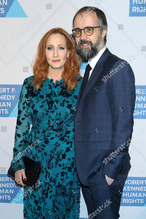 J.K. Rowling, Neil Murray. J.K. Rowling and Neil Murray attend the 2019 Robert F. Kennedy Human Rights Ripple of Hope Awards at the New York Hilton Midtown on Thursday, Dec.12, 2019, in New York