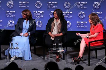 Nichelle Tramble (Exec Prod., Showrunner), Octavia Spencer (Exec. Producer), Sunny Hostin (Moderator)