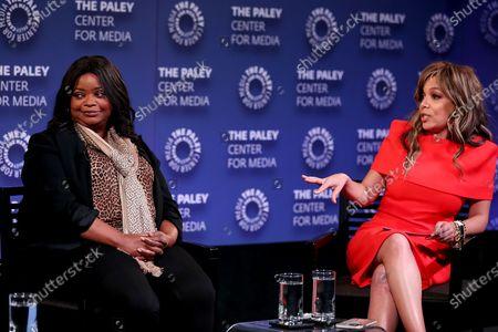 Octavia Spencer (Exec. Producer), Sunny Hostin (Moderator)