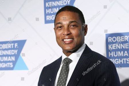 Don Lemon attends the 2019 Robert F. Kennedy Human Rights Ripple of Hope Awards at the New York Hilton Midtown on Thursday, Dec.12, 2019, in New York