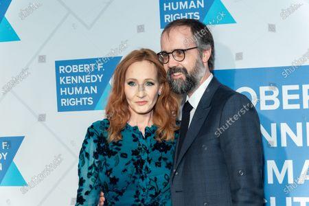 J.K. Rowling and Neil Murray
