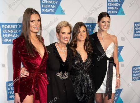 Mariah Kennedy Cuomo, Kerry Kennedy, Cara Cuomo and Michaela Cuomo