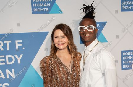 Stock Image of Kathryn Erbe and Jamel Robinson