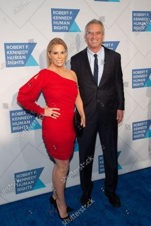 Cheryl Hines and Robert F. Kennedy Jr.
