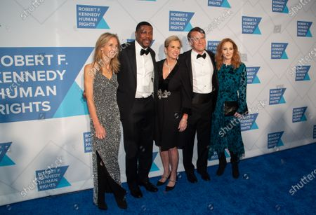 Wendy Abrams, Chris Tucker, Kerry Kennedy, Glen Tullman and J.K. Rowling
