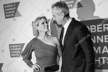 Stock Image of Cheryl Hines and Robert F. Kennedy Jr.