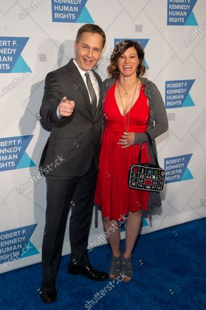 Stock Image of Chad Lowe and Kim Painter