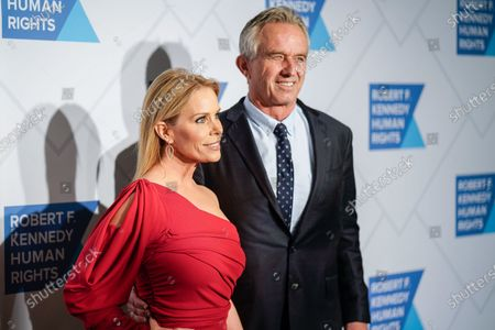 Stock Photo of Cheryl Hines and Robert F. Kennedy Jr.