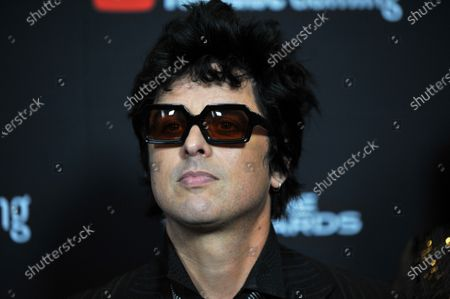 Greenday band member Billie Joe Armstrong attends the 2019 Game Awards in Los Angeles, California, USA, 12 December 2019. The Game Awards, founded in 2014, is held to highlight creative and technical achievements in the worldwide video game industry and competitive gaming community.