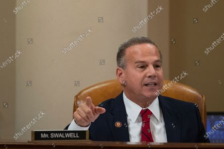 Stock Picture of United States Representative David Cicilline (Democrat of Rhode Island), speaks during a House Judiciary Committee hearing in Washington, D.C., U.S.,.