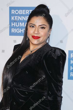 Editorial photo of Ripple of Hope Award Gala, Arrivals, New York Hilton Midtown, USA - 12 Dec 2019