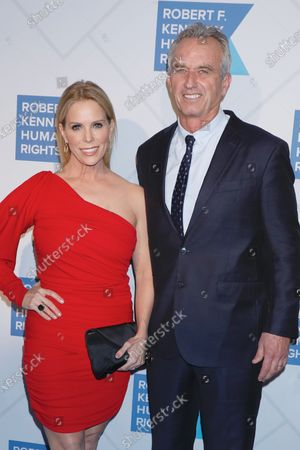 Stock Picture of Cheryl Hines and Robert F. Kennedy Jr.