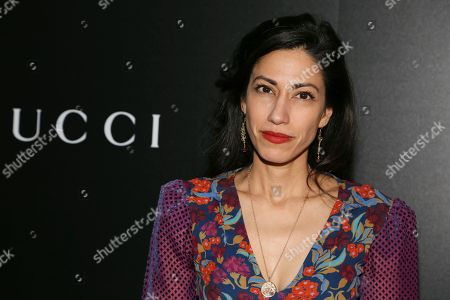 """Huma Abedin attends a special screening of """"American Woman,"""" hosted by Gucci and The Cinema Society at Metrograph, in New York"""