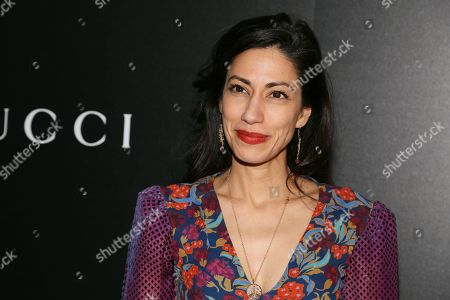 """Huma Abedin attends a special screening of """"American Woman"""", hosted by Gucci and The Cinema Society, at Metrograph, in New York"""