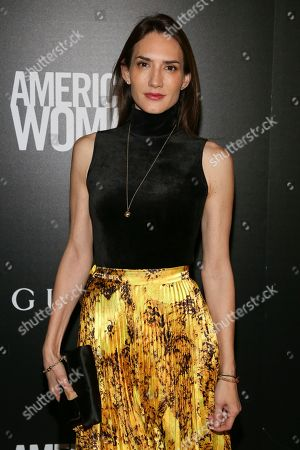 """Zani Gugelmann attends a special screening of """"American Woman"""", hosted by Gucci and The Cinema Society, at Metrograph, in New York"""