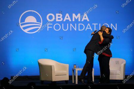 Editorial image of Obama Foundation event in Kuala Lumpur, Malaysia - 13 Dec 2019
