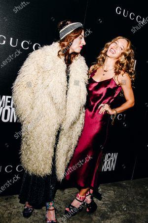 Stock Picture of Shari Loeffler and Zoe Buckman