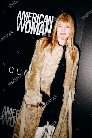 Editorial picture of 'American Woman' special film screening, Arrivals, New York, USA - 12 Dec 2019