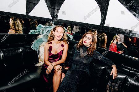 Stock Image of Zoe Buckman and Shari Loeffler