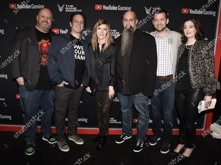 Aaron Greenberg, Phil Spencer, Liz Hamren, Jason Ronald, Jerret West, Rachel Card