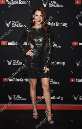 Editorial photo of The Game Awards, Arrivals, Los Angeles, USA - 12 Dec 2019