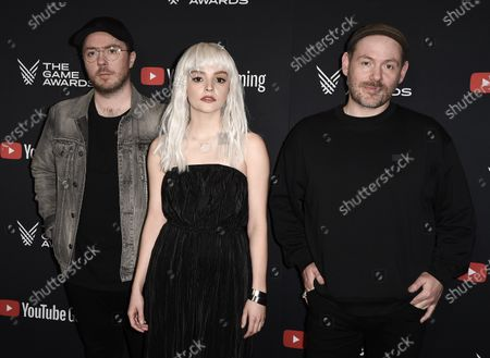 Stock Image of Martin Doherty, Lauren Mayberry, Lain Cook