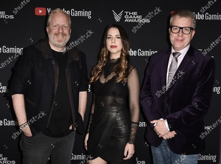 Stock Picture of Rod Ferguson, Laura Bailey, Larry Hryb