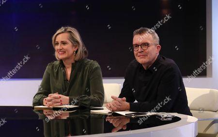 Amber Rudd and Tom Watson