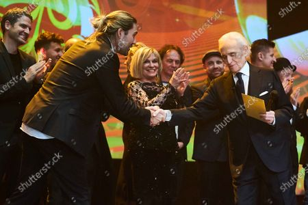 Arne Friedrich, David Garrett, Mary Roos, Jose Carreras
