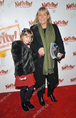 Stock Photo of Linda Robson and her granddaughter