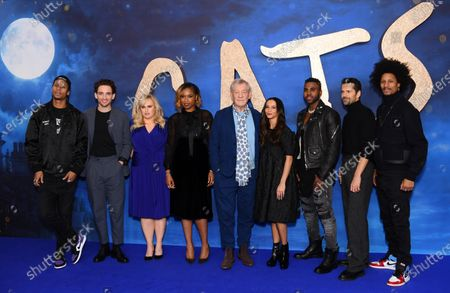 Larry Nicolas Bourgeois, Laurie Davidson, Rebel Wilson, Jennifer Hudson, Sir Ian McKellen, Francesca Hayward, Jason Derulo, Robbie Fairchild and Laurent Bourgeois